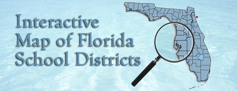 Interactive Map of Florida School Districts